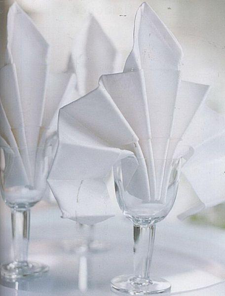 48 best images about pliage serviettes de table on pinterest dinner jackets mariage and smoking - Pliage serviette bonbon ...