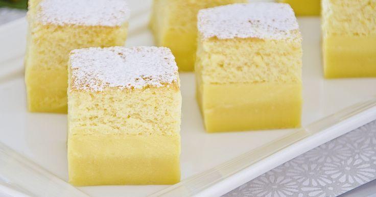 Torta mágica italiana. Conheça nossa receita.