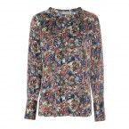 Blouse zijde stretch Seattle exclusief 24-01717e butterfly