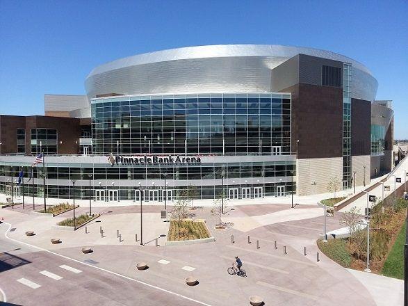 "Pinnacle Arena aka ""The Pink."" Lincoln, NE"