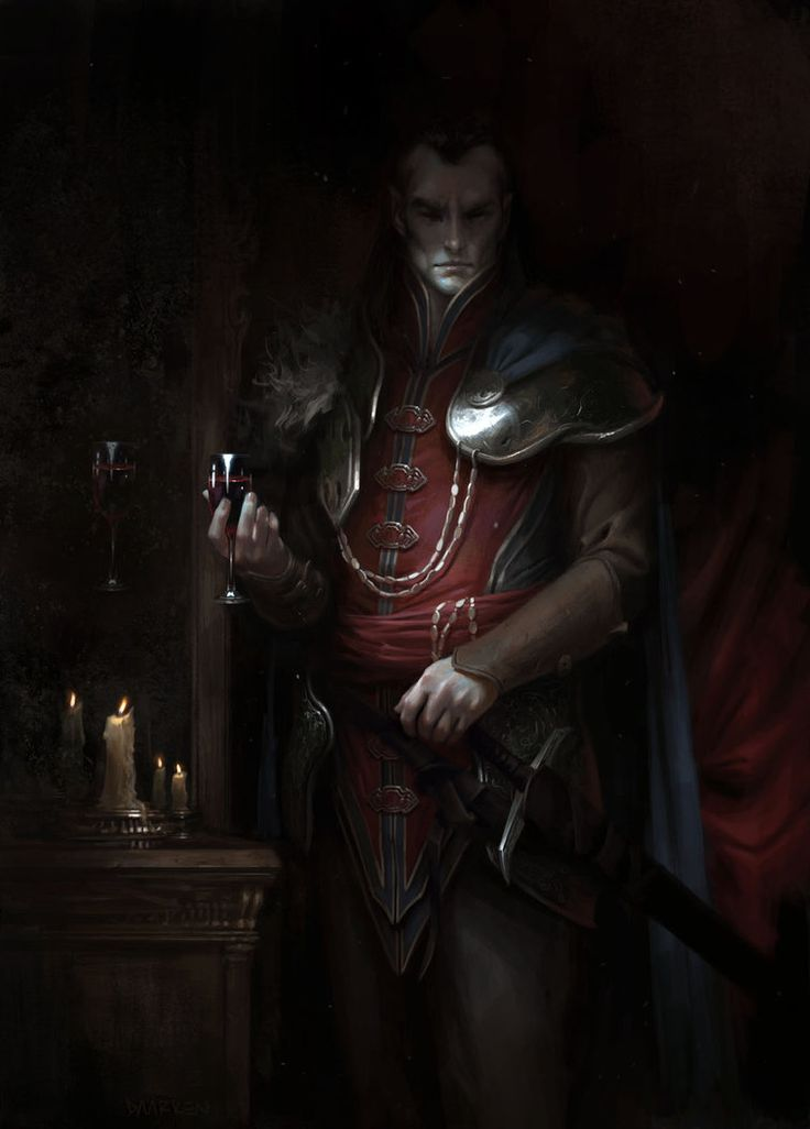 Curse of Strahd by daarken on DeviantArt