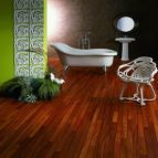 Doussie Hardwood Bathroom Flooring   The Solid Wood Flooring Company