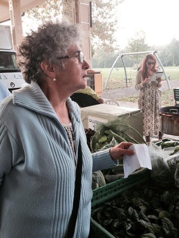 Twitter / @turismoER: #APranzoconTER Seconda parte della spesa al #mercato contadino #Carpi