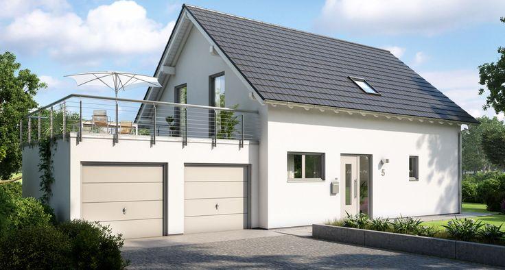 Kern-Haus Familienhaus Signum Doppelgarage mit Dachterrasse