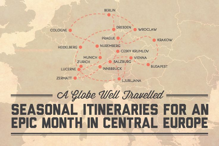 Central Europe has so much going for it – everything is reasonably cheap and there are an abundance of transport options making it super easy to get around, but how do you see Central Europe in onl...