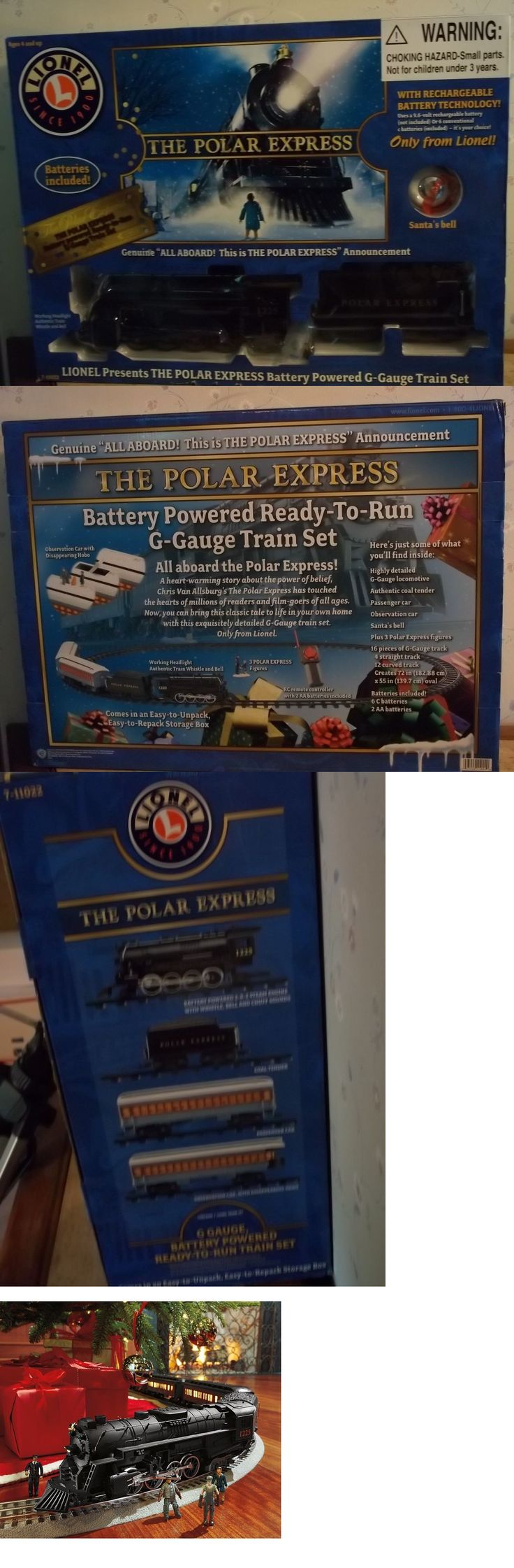 Other G Scale 4149: Lionel The Polar Express Train Set With Many Accessories, G Gauge, Mib -> BUY IT NOW ONLY: $69.99 on eBay!