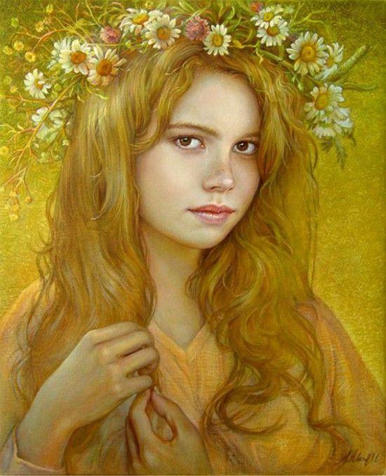 портреты художника Марины Илиевой - 09