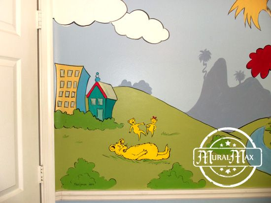 215 best images about dr seuss on pinterest nursery for Dr seuss wall mural