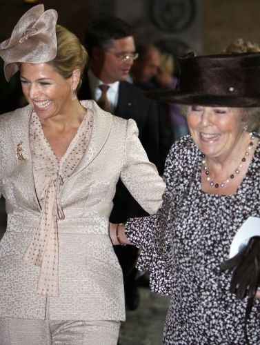 Marvelous Maxima:  Crown Princess Maxima and Queen Beatrix of the Netherlands