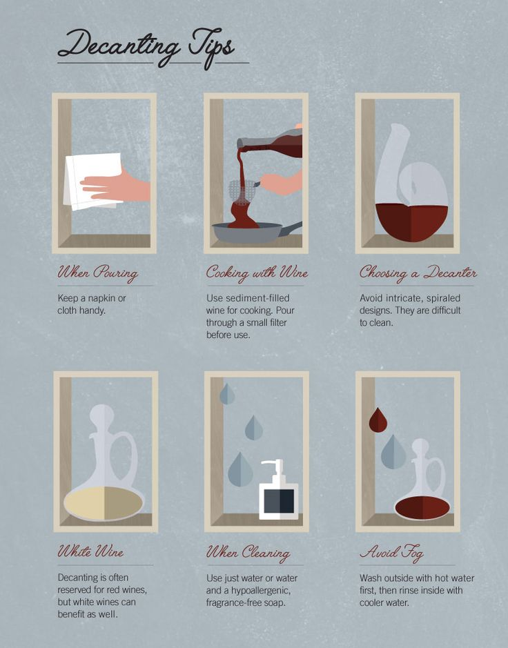 When, Why, and How to Decant Wine #FWx