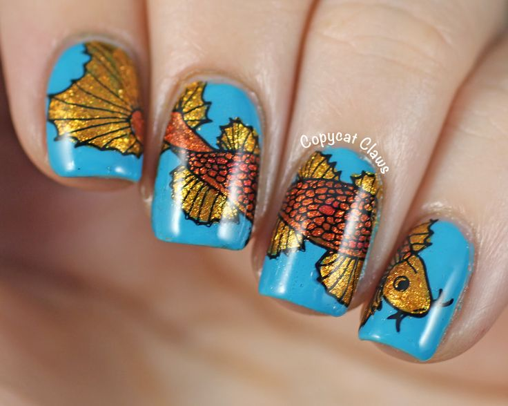86 best my stamping plates images on pinterest nail art for Fish pedicure dc