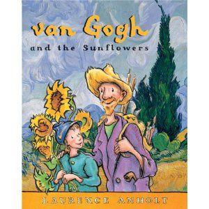 Van Gogh and the Sunflowers (Anholt's Artists Books for Children): Vangogh, Art Books, Vans Gogh, Artists Books, Sunflowers, Comic Books, Famous Artists, Van Gogh, Children Books