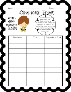 "characters effect on a reader A well-written character is a joy for a reader while a character's personality and traits are important, visual descriptions help the reader ""see"" the character in action the character description worksheets listed below are free for home and classroom use."