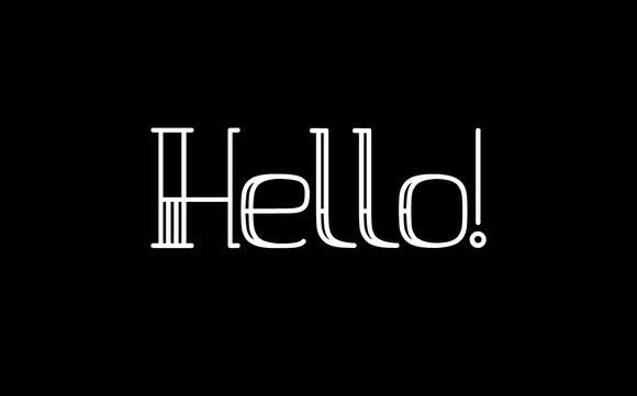 Halfstripe font by george.nikolaidis on @creativemarket
