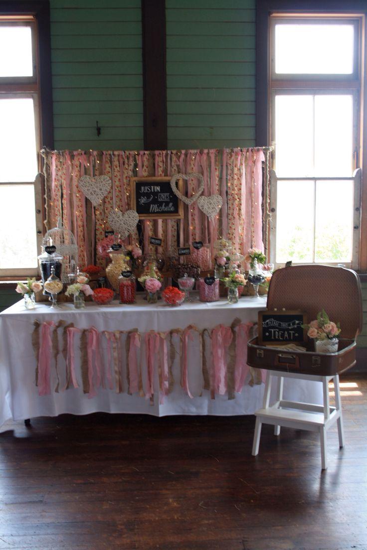 Wedding at Q Station. www.meiandmaytheblog.blogspot.com Flowers by 'Flowers by Teresa' Shabby Chic wedding / candy buffet