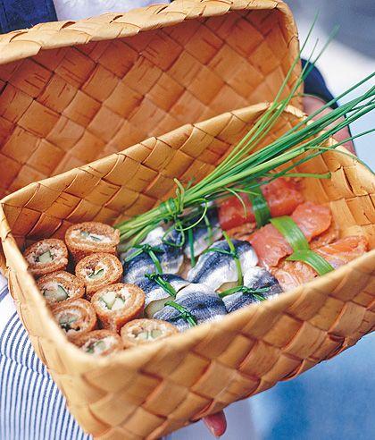Suomalainen sushi - Reseptit - Gloria.fi