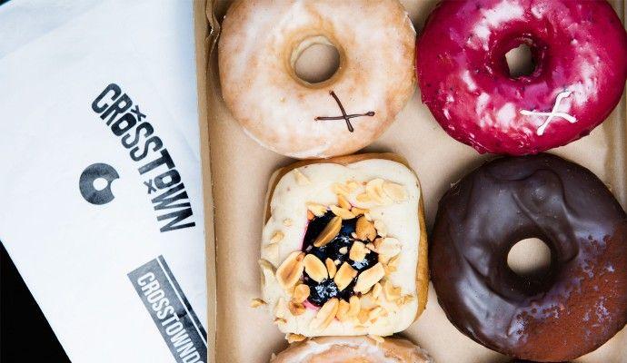 London's best donut – Crosstown doughnuts