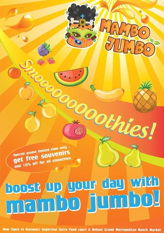 Mambo Jumbo Juice Flier Promo