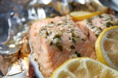Salmon - The perfect recipe for cooking salmon in foil