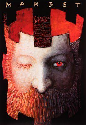 By Macbeth Gorowski Mieczyslaw, 'Macbeth' by G. Verdi & W. Shakespeare, 2 0 0 2, opera Italian.