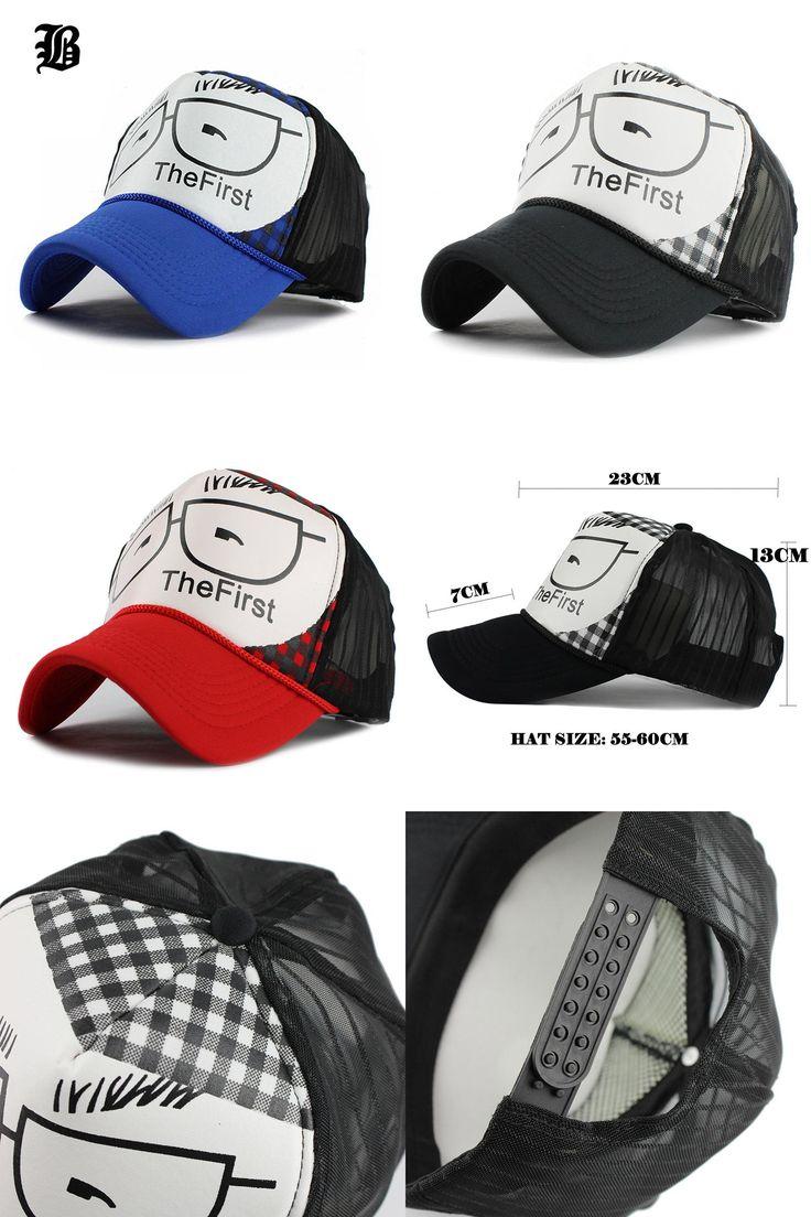 [Visit to Buy] [FLB] Wholesale Baseball Caps Trucker Summer Female Snapback Hats For Women Men Mesh Cap Fitted Sun Hat Casquette Gorras #Advertisement