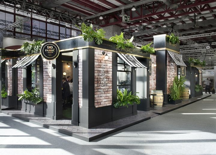 90 fabric street by egue y seta madrid spain retail design blog - Booth Design Ideas