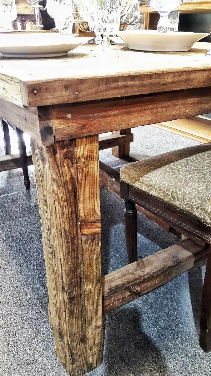 mesa madera rustica vintage personas unicas x b