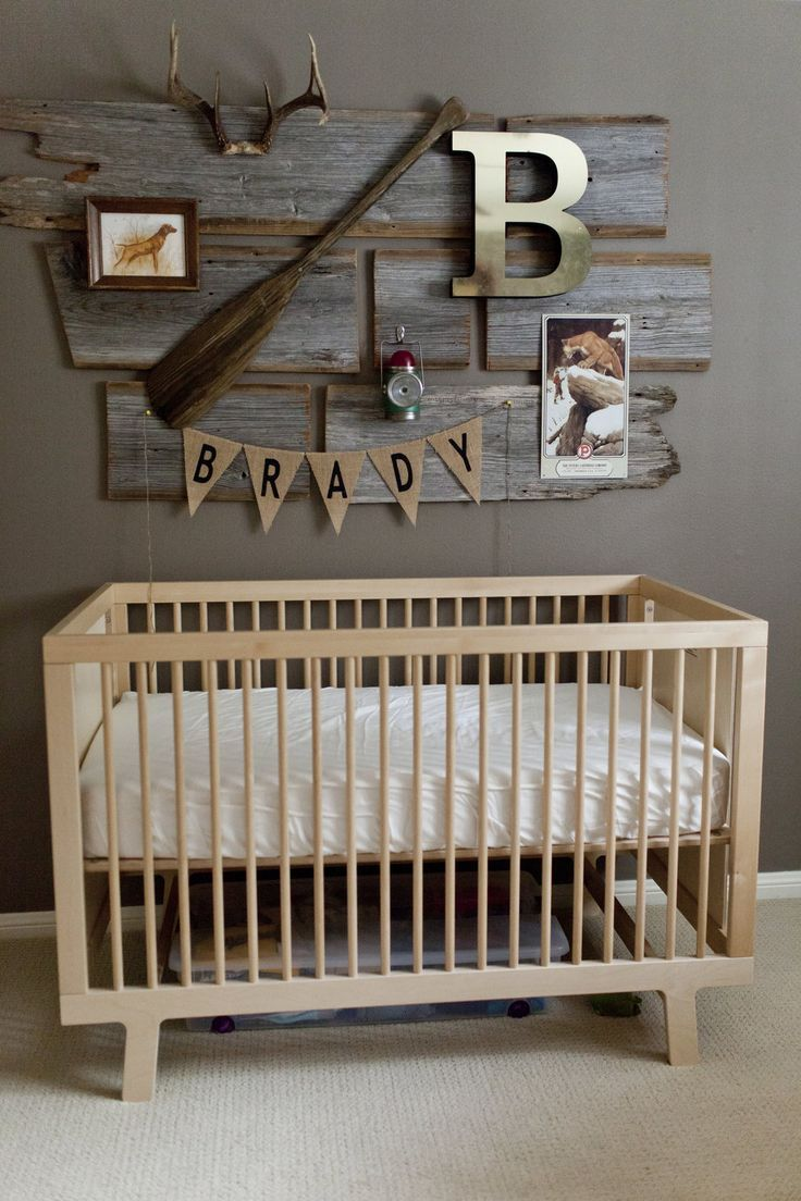 Vintage Hunting Nursery Country Baby