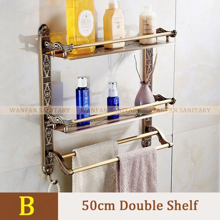 New Wall Mount Layers Storage Basket Shower Room Bathroom Towel Rack Soap  Dish Shampoo Rack Bathroom. 17 best ideas about Bathroom Towel Racks on Pinterest   Bathroom