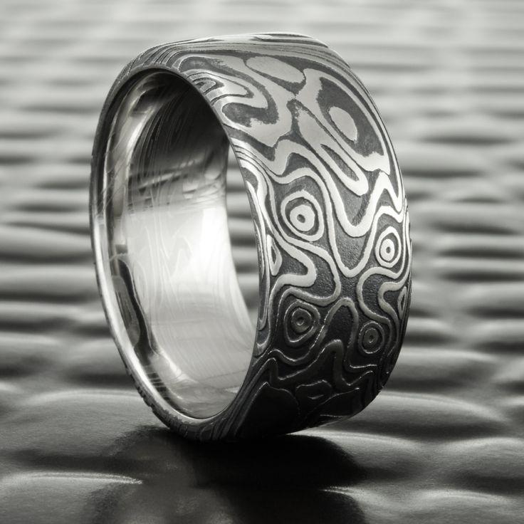 81 best Mens alternative wedding rings images on Pinterest