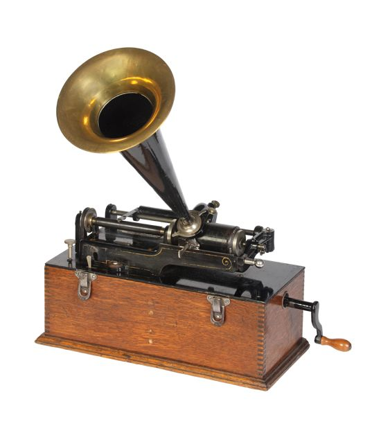 a history of the phonograph History of the phonograph [fo' no graf'] an instrument for reproducing sounds by means of the vibration of a stylus or needle following a spiral groove on a revolving disc or cylinder the earliest known phonographic recording device was the phonautograph, invented by edouard-leon scott and patented on march 25, 1857 the device consisted of a.