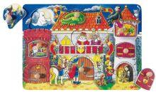 Puzzle s pozadím Na zámku - Puzzle pre najmenších - Puzzle - Hry a puzzle - Hračky a Detský nábytok- Detský Sen - Maxus
