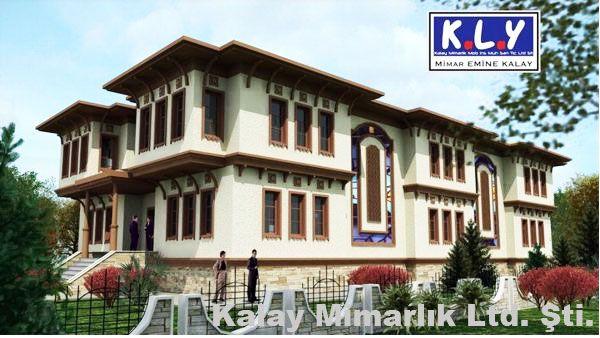 türk evleri mimari planları