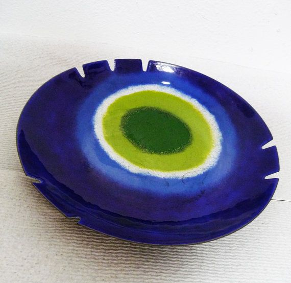 MidCentury Curtis Jere Ashtray Turkish Eye Good by XcapeVintage, $175.00