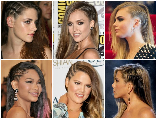 How To Fake An Edgy Side Shave --- OR disguise one that's growing out!