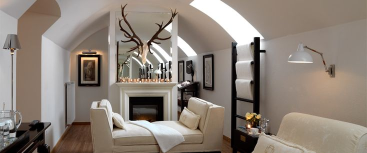 private spa of the boutique hotel Heidelberg Suites