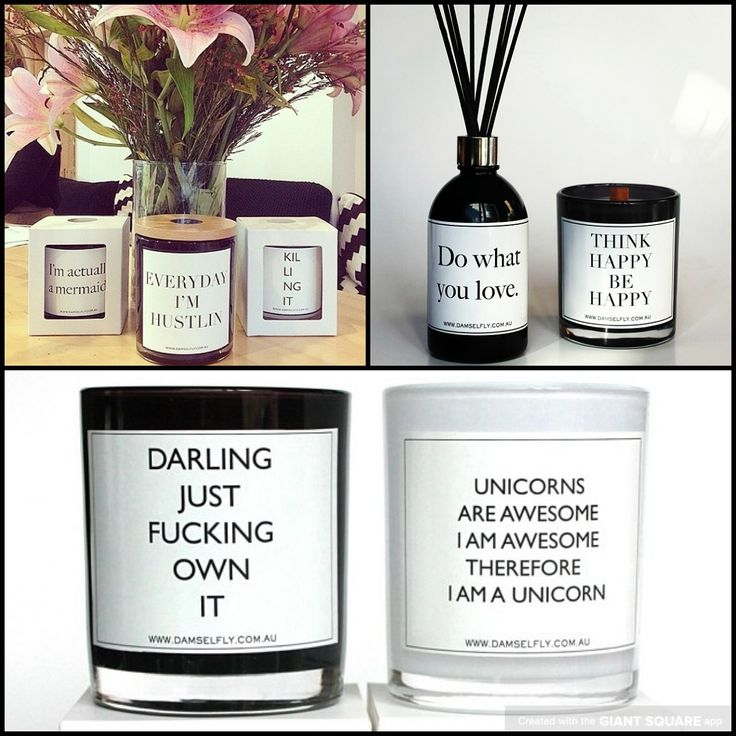Quote candles by damselfy official!