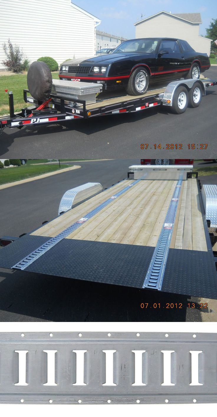 5' long E-track with horizontal slots - perfect for installation in truck or trailer beds. Attach an ATV, vehicle or more for security.
