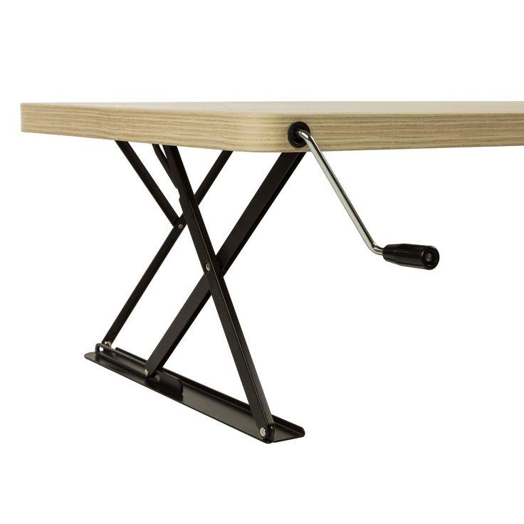 height adjustable desk more