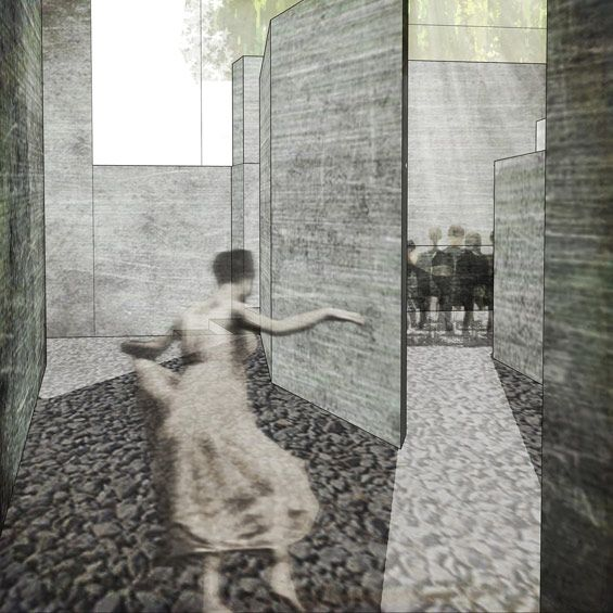 Student Project | New Urban Cemetery: Departures 1 & 2 | Tyler Allen Bradt « World Landscape Architecture – landscape architecture webzine