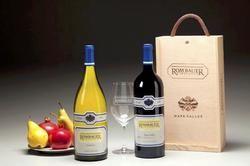 Rombauer wine glass.