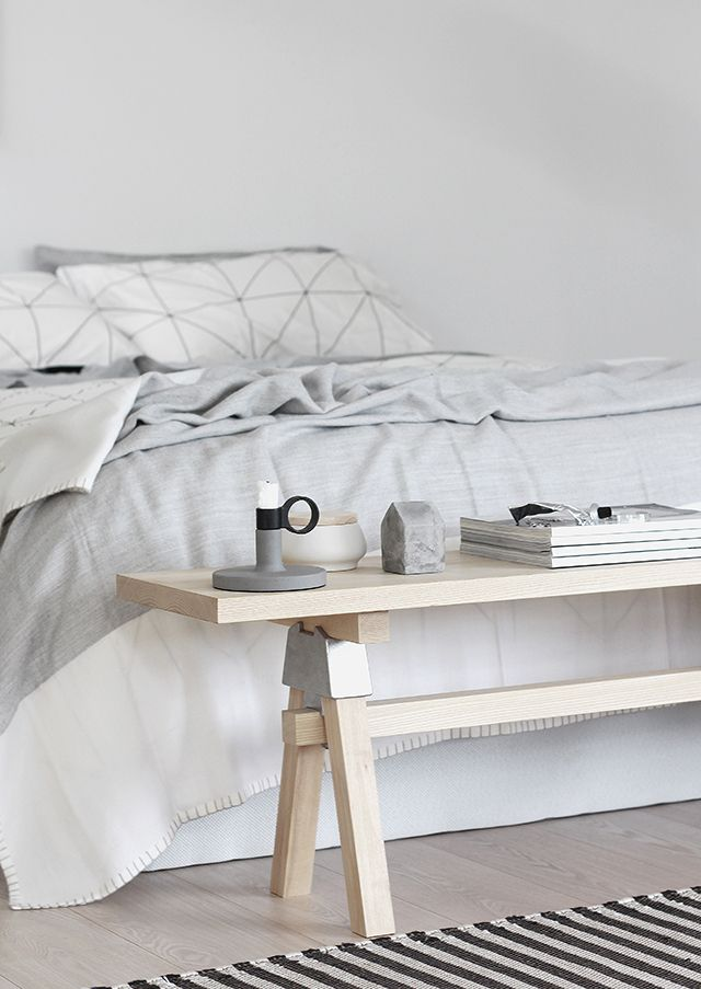 T.D.C | Sleepyhead styling with the A-Joint Mini Bench by Henry Wilson