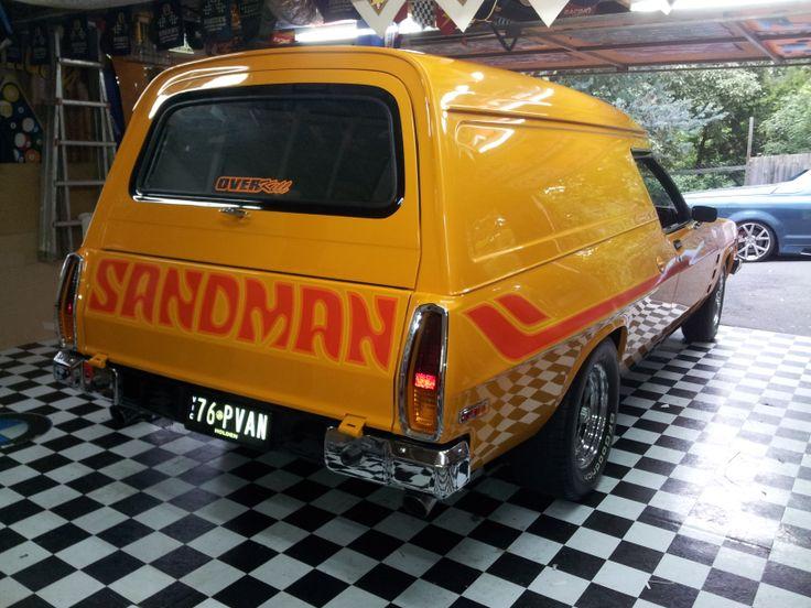 1976 HZ Sandman Panelvan