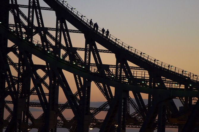 I cant wait to Climb the Story Bridge in Brisbane. And do the sunset photography course that lets you take photos at the top of the bridge