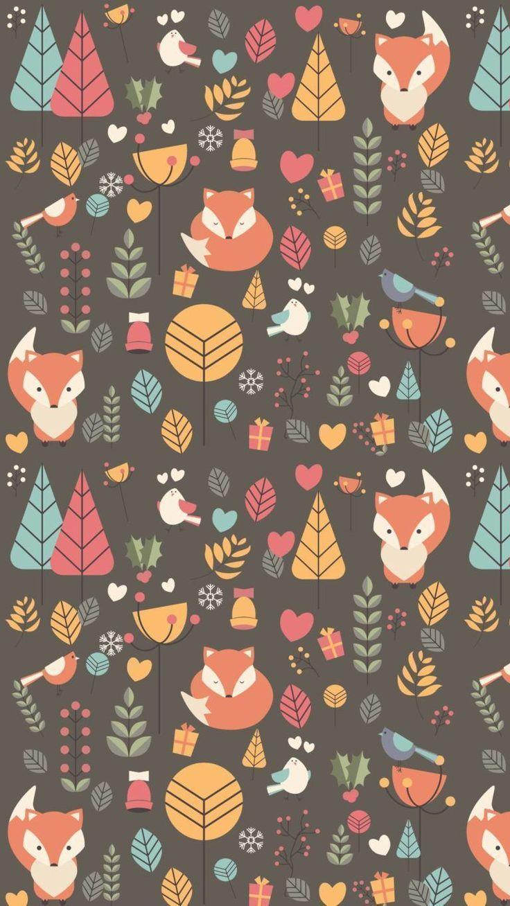 Süße Fuchs Wallpaper für WhatsApp
