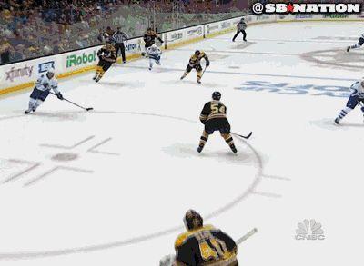 Boston Bruins goalie Tuukka Rask being his unbelievable self!
