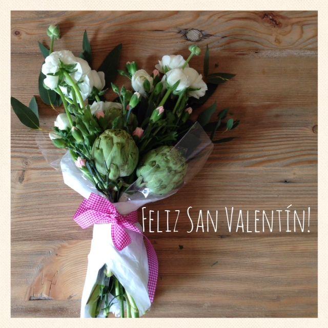 Desde Rice Worldwide os proponemos cambiar rosas por ALCACHOFAS para este San Valentín. Una alternativa más rústica y menos cursi. http://riceworldwide.com/alcachofas-san-valentin/