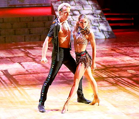 Riker Lynch and Allison Holker have consistently led the pack in Dancing With the Stars season 20.