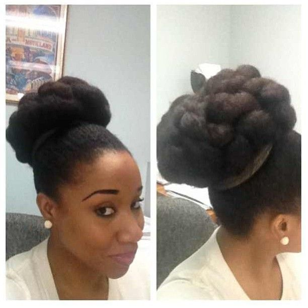Excellent 1000 Images About Natural Hair And Braids Updos On Pinterest Hairstyle Inspiration Daily Dogsangcom