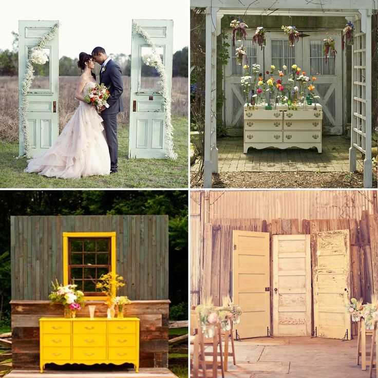 rustic wedding arches | rustic wedding | WeddingWise